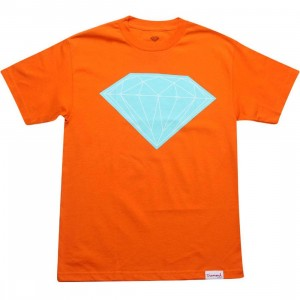Diamond Supply Co Big Brilliant Tee (orange)