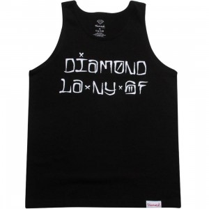 Diamond Supply Co Diamond Cities Tank Top (black)