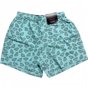 Diamond Supply Co Brilliant All Over Boxers (diamond blue)