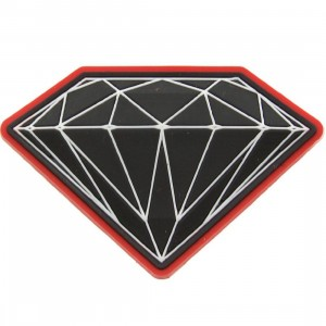 Diamond Supply Co Brilliant Magnet (red)