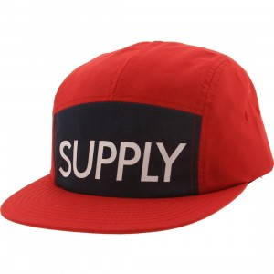 Diamond Supply Co Supply Camp Adjustable Cap (red)