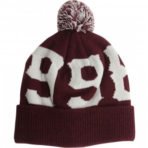 Diamond Supply Co 1998 Pom Beanie (burgundy)