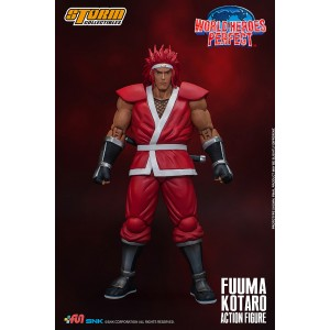 Storm Collectibles World Heroes Perfect Fuuma Kotaro 1/12 Action Figure (red)