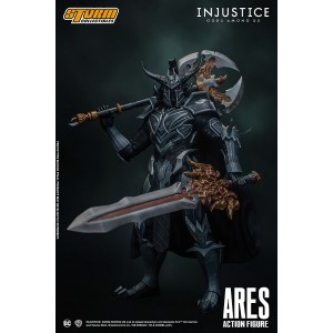 PREORDER - Storm Collectibles Injustice Gods Among Us Ares 1/10 Action Figure (black)