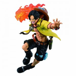 PREORDER - Bandai Ichibansho One Piece Dynamism Of Ha Portgas D. Ace Figure (yellow)