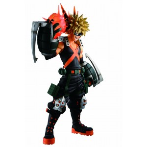 PREORDER - Bandai Ichibansho My Hero Academia Katsuki Bakugo Dou Let's Begin! Figure (orange)