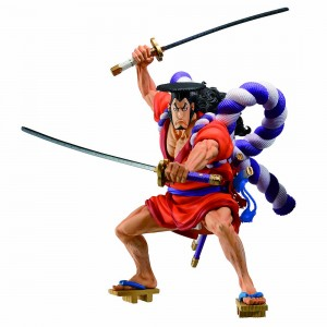 PREORDER - Bandai Ichibansho One Piece Kozuki Oden Figure (orange)