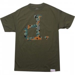 Diamond Supply Co Camo Un-Polo Tee (army)