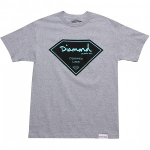 Diamond Supply Co Certified Lifer Tee (heather)