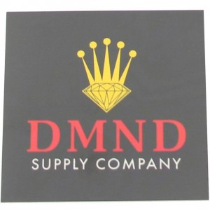 Diamond Supply Co Crown Sticker (black / red)