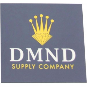 Diamond Supply Co Crown Sticker (blue / white)