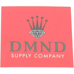 Diamond Supply Co Crown Sticker (red / black)