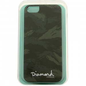 Diamond Supply Co Tonal Camo iPhone 5 Case (green / camo)