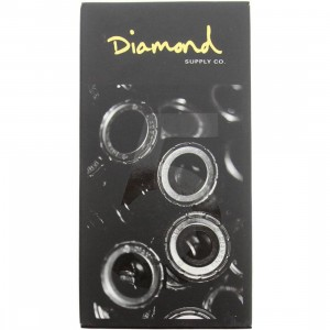 Diamond Supply Co Diamond Rings Hella Fast Abec 5 Bearings (black / gold)