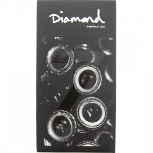 Diamond Supply Co Diamond Rings Hella Fast Abec 7 Bearings (black / silver)