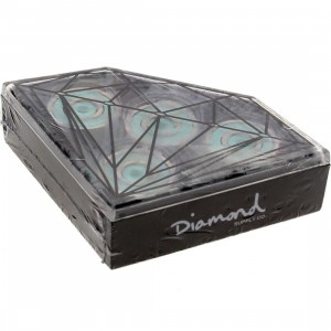 Diamond Supply Co Diamond Smoke Rings Bearings (silver / diamond blue)