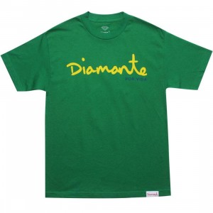 Diamond Supply Co Diamond For Life Tee (kelly)