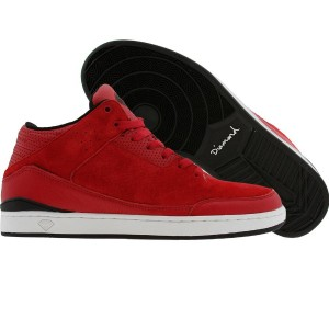 Diamond Supply Co Marquise Leather (red / black)