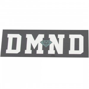 Diamond Supply Co DMND Super Sticker (black / white)