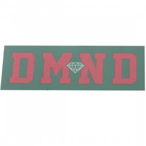 Diamond Supply Co DMND Super Sticker (green / pink)