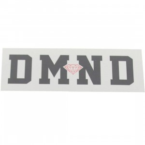 Diamond Supply Co DMND Super Sticker (silver / black)