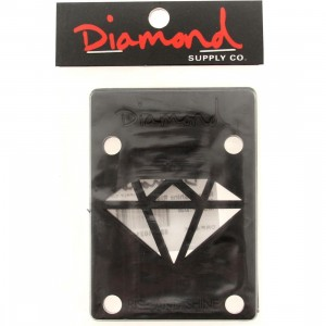 Diamond Supply Co Rise And Shine Risers (black)