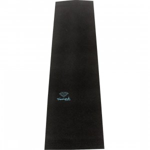 Diamond Supply Co Superior Griptape Logo Sheets (black / diamond blue)