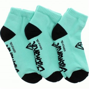 Diamond Supply Co 3 Pack Low Socks (diamond blue / black) 1S