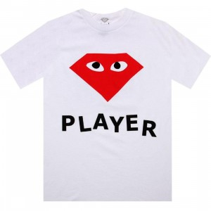 Diamond Supply Co Player Tee (white)