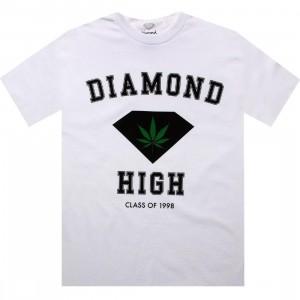 Diamond Supply Co Diamond High Tee (white)