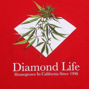 Diamond Supply Co Homegrown Tee (red)
