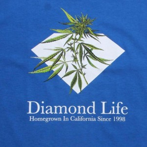 Diamond Supply Co Homegrown Tee (royal)