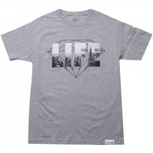 Diamond Supply Co NY Diamond Life Tee (heather)