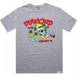Diamond Supply Co Cutty Lifers Club Tee (heather)