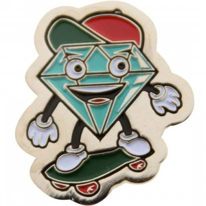 Diamond Supply Co Metal Lil Cutty Pin (multi)
