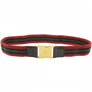 Diamond Supply Co Terry Belt (black / green / red)