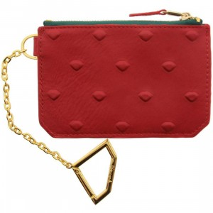 Diamond Supply Co XL Diamond Skin Chain Wallet (red / green / gold)