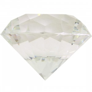 Diamond Supply Co Diamond Paperweight (clear)