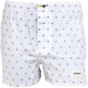 Druthers Save The Bees Premium Boxers (white)