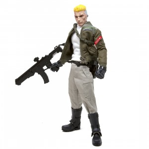 BAIT x G.I. Joe x 1000toys x Alpha Industries 1/6 Duke Figure - SDCC Exclusive (green)