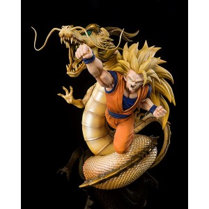 PREORDER - Bandai Figuarts Zero Dragon Ball Z Extra Battle Super Saiyan 3 Son Goku Dragon Fist Explosion Figure (yellow)