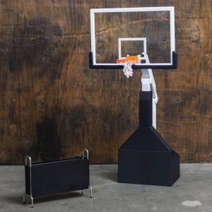 NBA x Enterbay Basketball Hoop 1/9 Scale 10 Inches Figure (black)