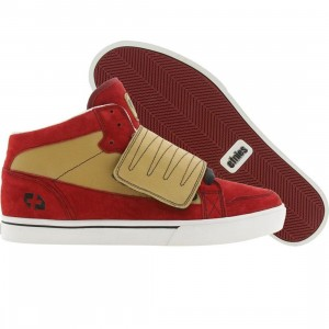 Etnies Plus Tribute Plus (red / gold)