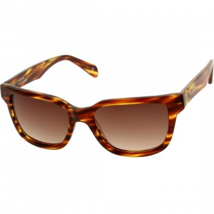 Established MMXII Ciro Sunglasses (orange / amber)