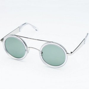 Established MMXII Sydney Sunglasses (white / crystal)