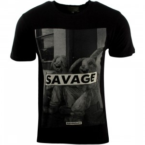 Eleven Paris Salin Tee (black)
