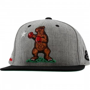 Expedition Cali Bear Starter Snapback Cap (athletic heather / black)
