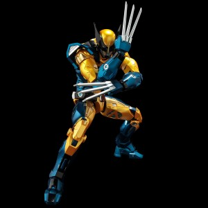 PREORDER - Sentinel Fighting Armor Marvel Wolverine Figure (yellow)