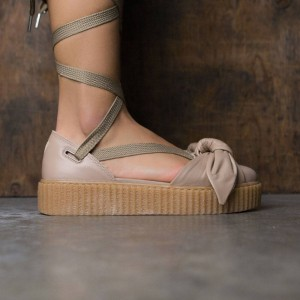 Puma x Fenty By Rihanna Women Bow Creeper Sandal (natural / oatmeal)