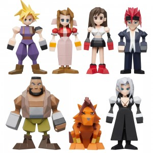 Square Enix Final Fantasy VII Polygon Figure - 8 Figures Blind Box Set (multi)